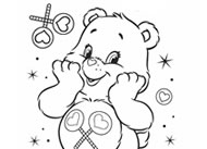 Share Bear Cares! Care Bears Activities