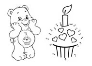 Birthday Bear's Sweet Surprise Care Bears Activities