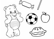 Help Cheer Bear! Care Bears Activities