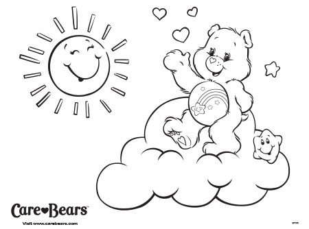 wish bear coloring pages - photo#18