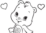 Cute, Little Wonderheart Bear Care Bears Activities