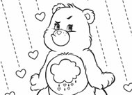 Grumpy Day Care Bears Activities