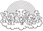Caring on a Cloud Care Bears Activities