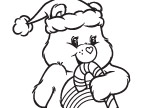 Cheery Candy Cane Care Bears Activities