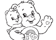 Tag-along Care Bears Activities