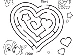 Meet Cozy Heart Penguin! Care Bears Coloring Pages