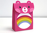 Cheer Bear Treat Bag Care Bears Activities
