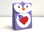 Cozy Heart Penguin Treat Bag Care Bears Activities
