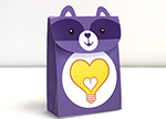 Bright Heart Raccoon Treat Bag Care Bears Activities
