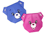 Care Bears Cheer Bear Origami Care Bears Activities
