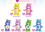 Series 1 Collector's Checklist Care Bears Activities