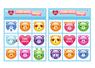 CARE-MOJI Bingo Care Bears Activities