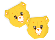 Care Bears Funshine Bear Origami Care Bears Activities
