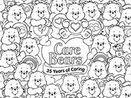 Serious Coloring Skills Care Bears Activities