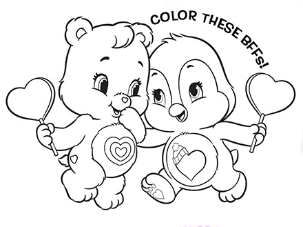 care bear baby coloring pages - photo#40