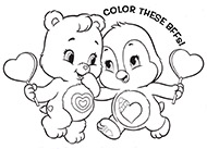 NEW DVD! Care Bears & Cousins - BFFs Care Bears Activities
