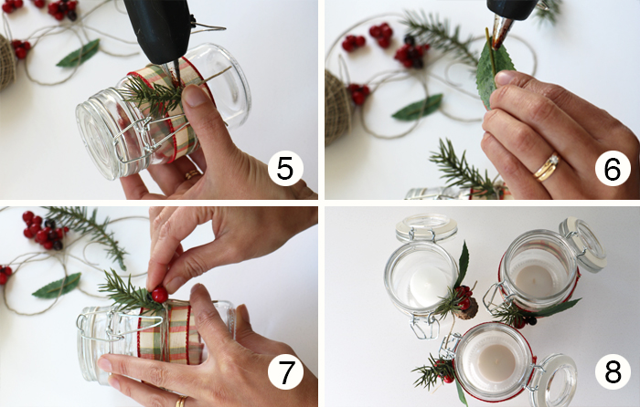 Christmas Candle Instruction Part 2