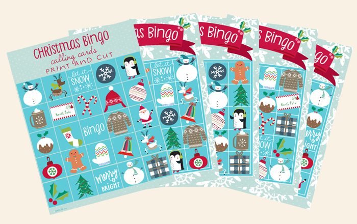 Free Christmas Bingo Cards