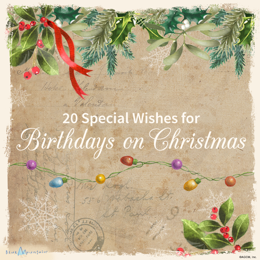 Christmas Birthday Image.Christmas Card Sayings Quotes Wishes Blue Mountain