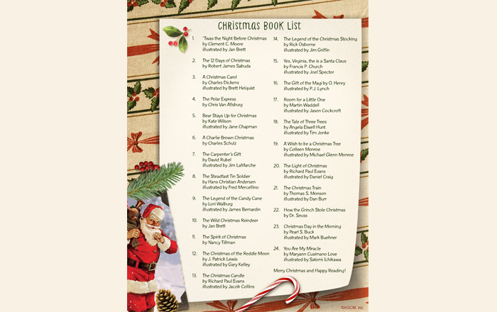 List of the Best Christmas Books for Kids