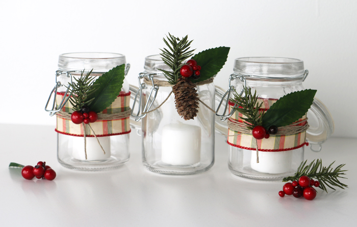 Christmas Candle Craft