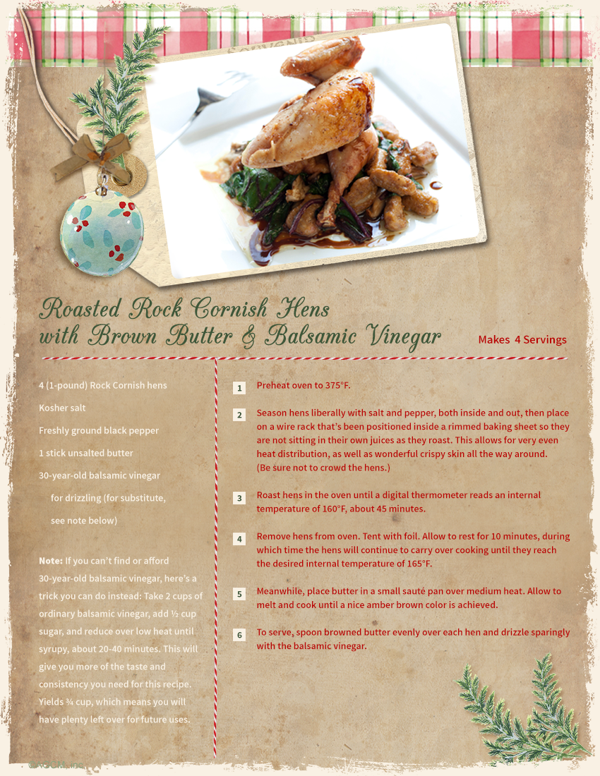 christmas recipe card ideas