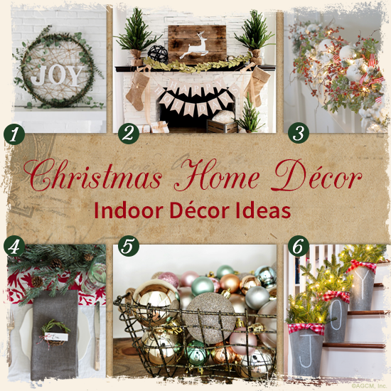 Christmas Home Décor; Indoor Décor Ideas