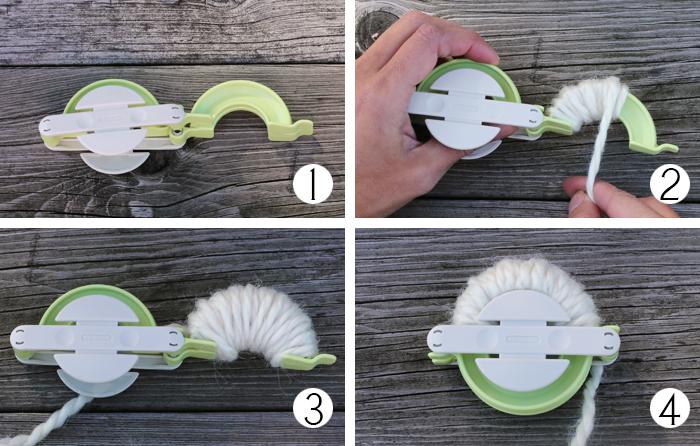 Christmas Craft Decoration Pom Pom Instructions