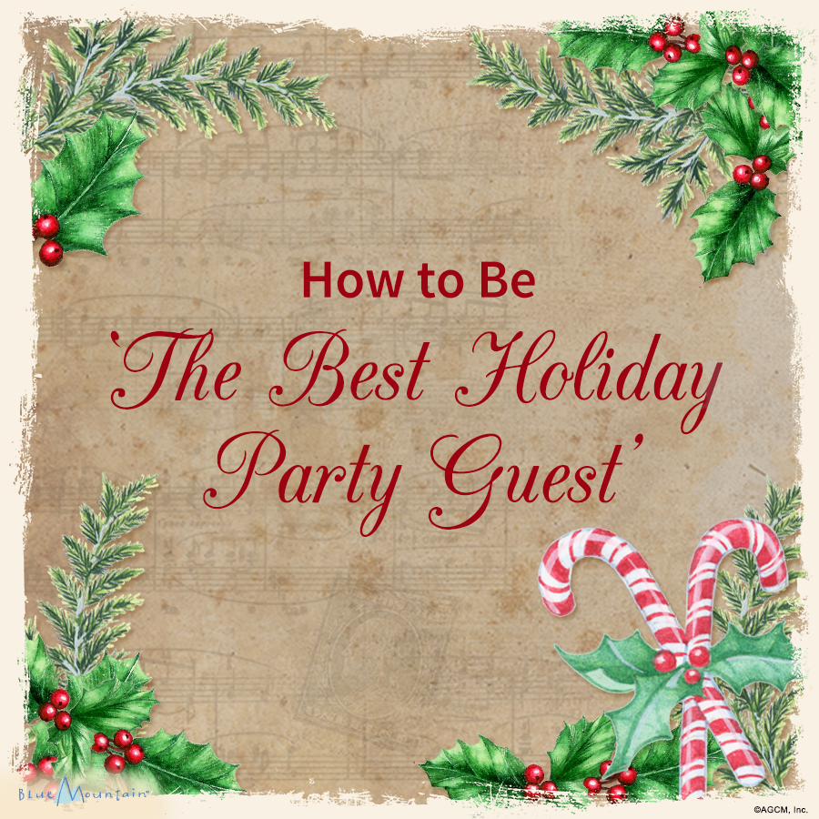 How to Be The Best Holiday Party Guest