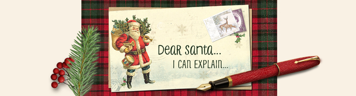 Printable Letters to Santa from your Child