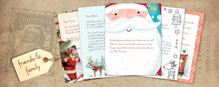 Printable Letters from Santa to your Child