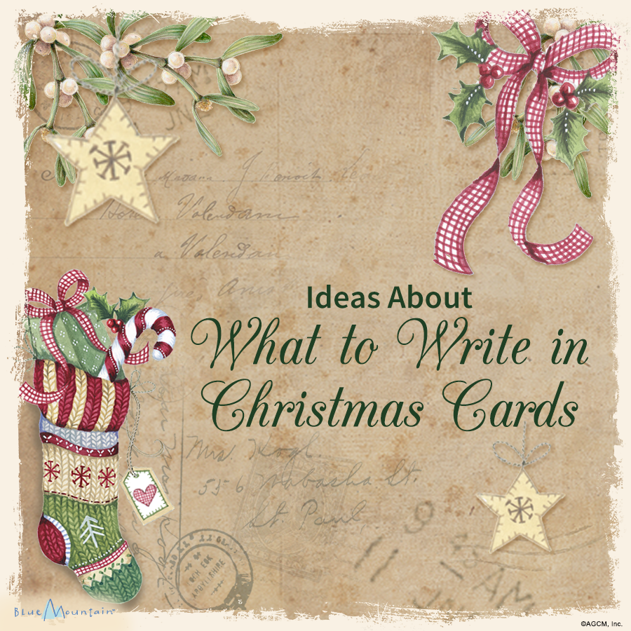 ideas about what to write in christmas cards