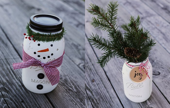 Christmas Craft Projects With Jars