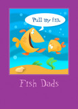 Fish Dads 5x7 Folded Card