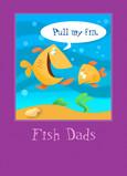 Fish Dads 5x7 Folded Card