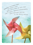 Birthday Pinwheels 5x7 Folded Card