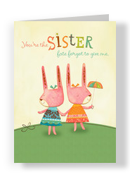 Fate Sister 5x7 Folded Card