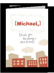 True Friend 5x7 Folded Card