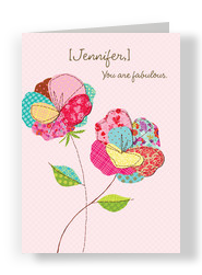Fabulous You 5x7 Folded Card