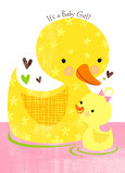 Baby Duckie 5x7 Folded Card