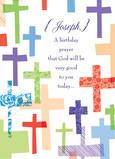 Birthday Prayer 5x7 Folded Card