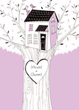 Tree House Anniversary 5x7 Folded Card