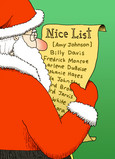 Christmas Nice List 5x7 Folded Card