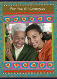 Kwanzaa Photo Frame 5x7 Folded Card