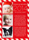 Candy Cane Newsletter 5x7 Folded Card