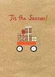 Red Wagon Gifts 5x7 Folded Card