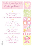 Pink Icon Congratulations 5x7 Folded Card