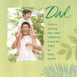 Fern Dad Hero 4.75x4.75 Folded Card