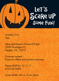 Scare Up Fun 5x7 Flat Card