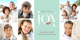 Holly Joy To You 8x4 Flat Card
